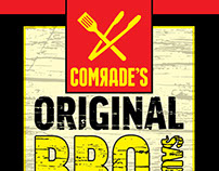 Comrade's BBQ Labels