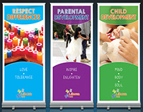 Kindergarten Core Values large posters