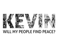 KEVIN - WILL MY PEOPLE FIND PEACE? - Film Poster