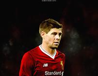 Steven Gerrard Retouch And Edit