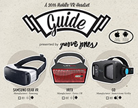VR Mobile Headset Guide - Infographic