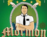 Mórmon style T-shirt