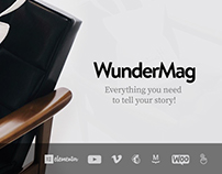 WunderMag - WordPress Blog / Magazine Responsive Theme!