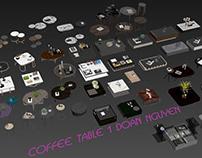 MODEL FREE 5 - COFFEE TABLE 1