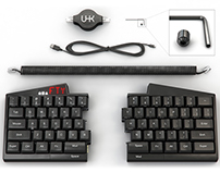 Ultimate Hacking Keyboard - Promo images