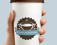 Caribou Coffee Intern work, Kuwait