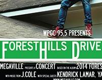 Mock Concert Tour Flyer