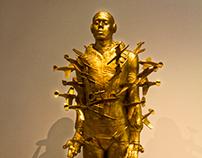 poignant statue
