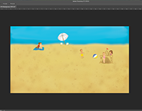 Creative Blitz Beach 2 PSD File Screen Shot