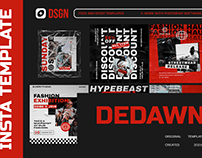 Dedawn Streetwear Instagram Template