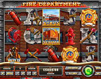 "Slot machine - ""Fire Department"""