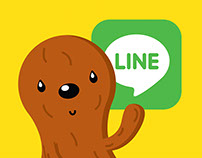 Going Nuts LINE Stickers
