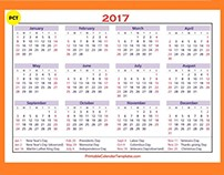 March 2017 printable calendar templates designing ways