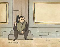 """End credit illustrations for """"Sober Minds"""""""