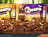 Packaging GUERO Corn Stick Chocolate Flavor