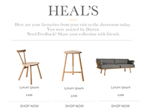 Heals Email Template Design
