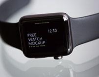 Free Wrist Watch Mockup Free