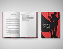Book Design - James Bond Casino Royale