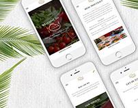 Coco Catering - Branding & Web Design