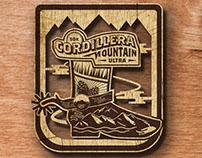 Cordillera Mountain Ultra Logo design