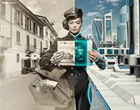 Poste Italiane 100 years anniversary - Adv Campaign