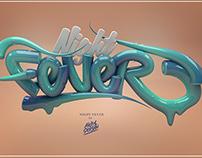 /// Typography 3D - 3 ///
