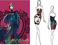 DISNEY - fashion concept design for SugarbirdSS15
