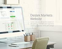 Destek Markets Website Design
