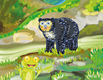Héroes al rescate del oso de anteojos