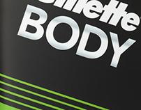 Gillette Body - Lançamento