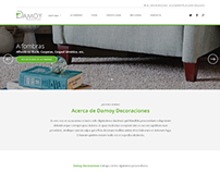 Web Wordpress Custom Theme - Damoy Decoraciones