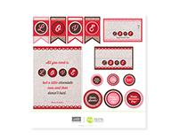 Valentine Love Digital Scrapbooking Kit