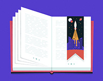 Book Genre Illustrations / Financial Times