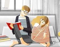Sofa. Love together.