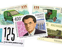 Stamps and First day covers for Hungarian Post Ltd.