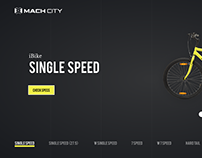 Cycles Web Landing Page