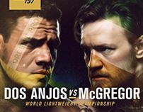 UFC 197 KEYART