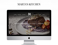 Marta's Kitchen - Responsive Website UI/UX & Art Direc