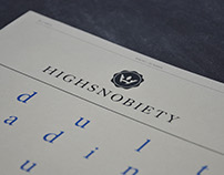 Highsnobiety / Editorial Design / Redesign