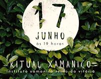 Convite Ritual Xamanico