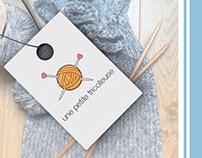 Identité visuelle - Une petite tricoteuse