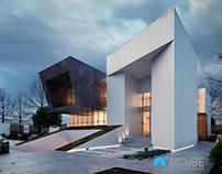 "Villa Nigeria Design,3D Visualization ""MCUBE Studios"""