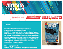 Newsletter Riddim Collision 2015