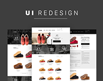 Vibe Shoes - Ui Redesign