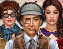 Character illustration for Hidden Object