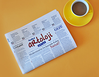 Radikal Artoloji - Newspaper Supplement