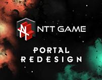 Nttgame.com UI Redesign