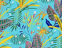 print design - swimwear