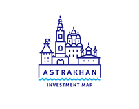 Astrakhan investment map app.
