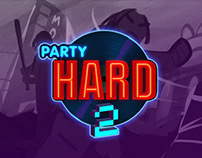 Party Hard 2 storyboard sketches